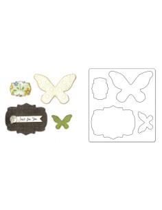 Bigz Die - Butterflies &...