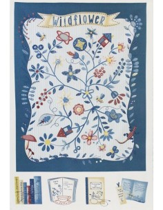 31500-70 - Lecien American Country XVII (75cm Panel) - Cotone Stampato Giapponese