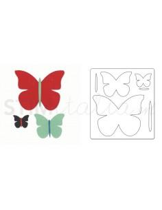 Bigz Die - Butterfly Trio...