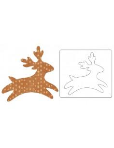Bigz Die - Reindeer -3 by...