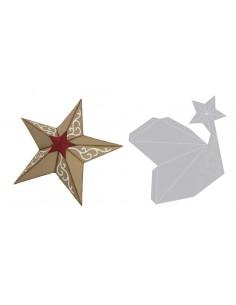 Bigz Die Christmas Star 3-D...