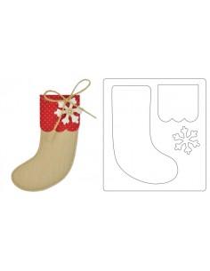 Bigz Die Christmas Stocking...