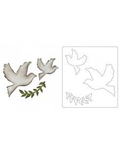 Bigz Die Enchanted Doves by...