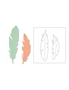 Bigz Die Feather by Debi...