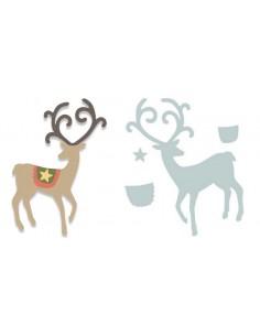 Bigz Die Graceful Reindeer