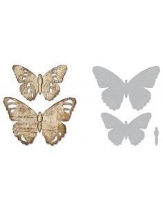 Bigz Die Tattered Butterfly...