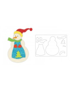 Bigz L Die - Snowman by...