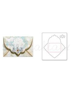Bigz Die - Envelope w/Ornate Flap by Rachael Bright