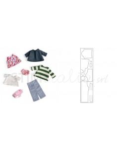 """Bigz XL 25"""" Die Doll Clothes by Kid Giddy"""