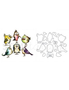 Framelits Die Set 18PK Bird...