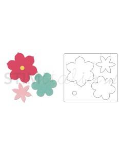 Bigz Die - Flower 3 by Echo...