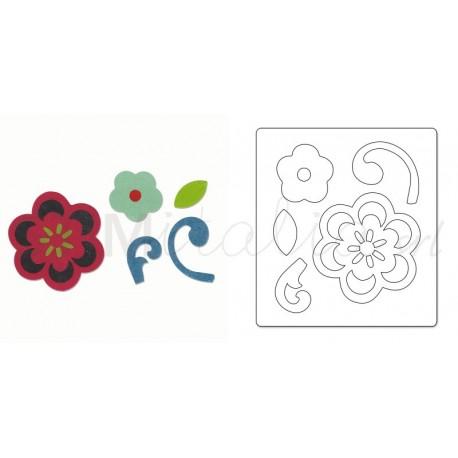 Bigz Die - Flower & Flourish by Echo Park Paper Co.