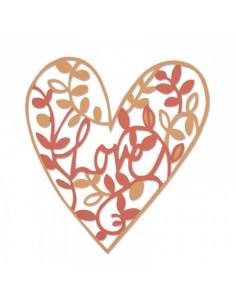 Thinlits Die Natural Love