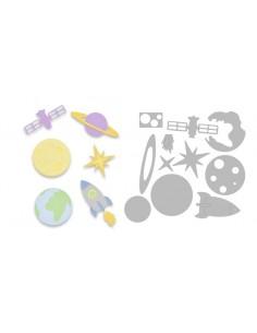 Thinlits Die Set 11PK Space...