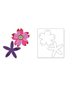 Bigz Die - Flower Layers 13...