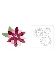 Bigz Die - Flower Layers 6 by Basic Grey