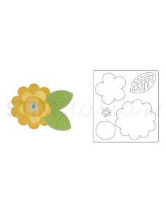 Bigz Die - Flower Layers & Leaf 2 by doodlebug design inc.™