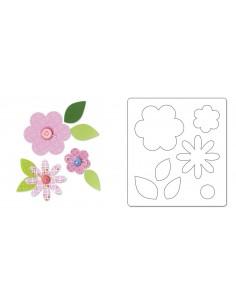 Bigz Die Flower Layers &...