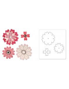 Bigz Die Flower Layers w/Heart Petals by Eileen Hull