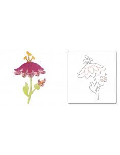 Bigz Die - Flower w/Leaves & Stem 4 by BasicGrey