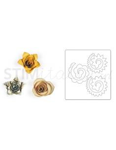 Bigz Die - Flowers, 3-D 3