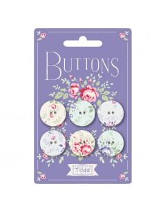 Tilda Old Rose Buttoni in...