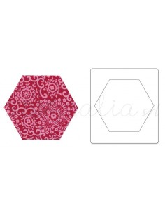 "Bigz Die - Hexagon, 2 1/4"" Sides **replaces 657885**"