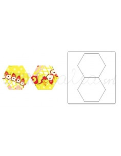 "Bigz Die - Hexagons, 1 1/2"" Sides **replaces 659144**"