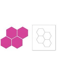 """Bigz Die - Hexagons, 1"""" 2 Sides"""