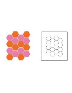 """Bigz Die - Hexagons, 1/2"""" Sides **sostituisce 659790**"""