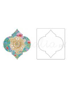 Bigz Die - Label, Moorish by Dena Designs
