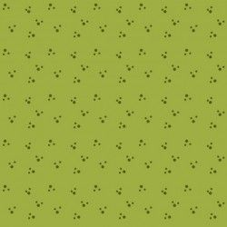 Contemporary Classics - Paw Prints - Apple Green