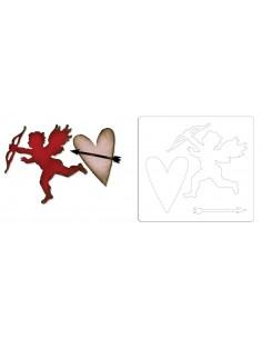 Bigz Die - Love Stuck by Tim Holtz