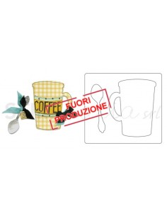 Bigz Die - Mug & Spoon by Eileen Hull