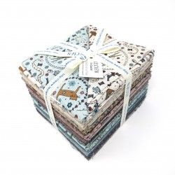 Bundle di 36 Fat Quarter -...