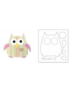 Bigz Die - Owl 2 by Dena...