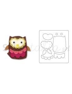 Bigz Die - Owl 4 by Debi...