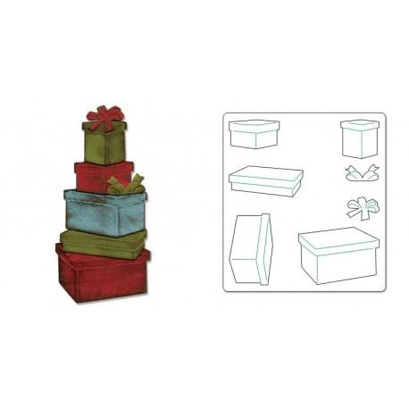 Bigz Die - Packages & Bows by Tim Holtz