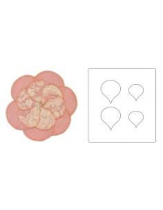 Bigz Die - Petals, Rose