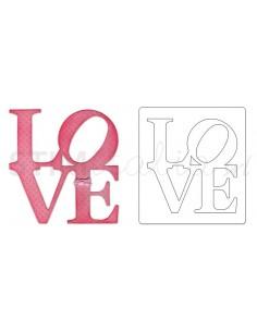 Bigz Die - Phrase, Love by Paula Pascual