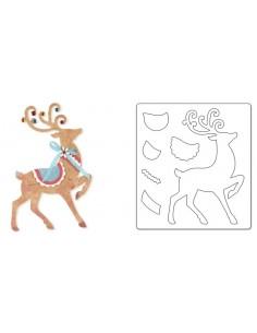 Bigz Die - Reindeer by Brenda Walton