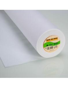 Interfodera Da Cucire M 12 - Mediamente Pesante e Morbida - Bianco h90 cm