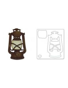 Bigz Die - Rustic Lantern by Tim Holtz