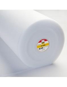 Ovatta H 640 - Imbottitura Termoadesiva Mediamente Pesante e Morbida - Bianco h90 cm