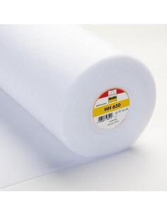 Ovatta HH 650 - Imbottitura Termoadesiva su 2 Lati Leggera e Morbida- Bianco h150 cm