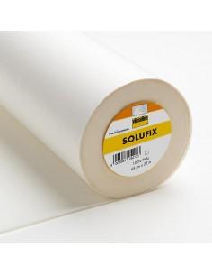 SOLUFIX - Fliselina Autoadesiva, Idrosolubile - Bianco h45 cm