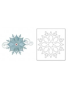 Bigz Die - Snowflake Ornament by Brenda Walton