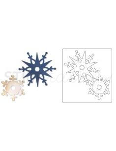 Bigz Die - Snowflakes 3 by BasicGrey