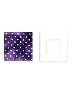 "Bigz Die - Square, 2"" Finished, 2 1/2"" Unfinished (cm 6,35)"