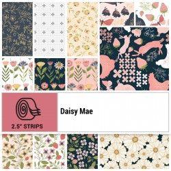 DAISY MAE, Jelly Roll - 42 Strisce Di Tessuto Da 2.5 X 44 Pollici